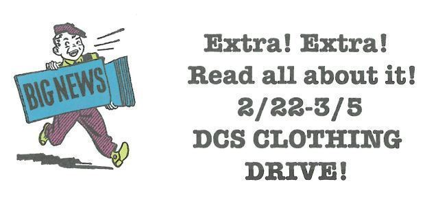 Clothing Drive for Rockwood