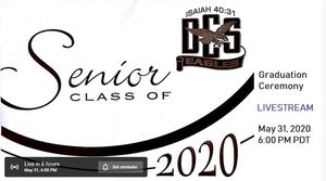 Senior Commencement Livestream