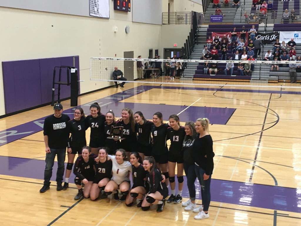 4th place at State - DCS volleyball 2019