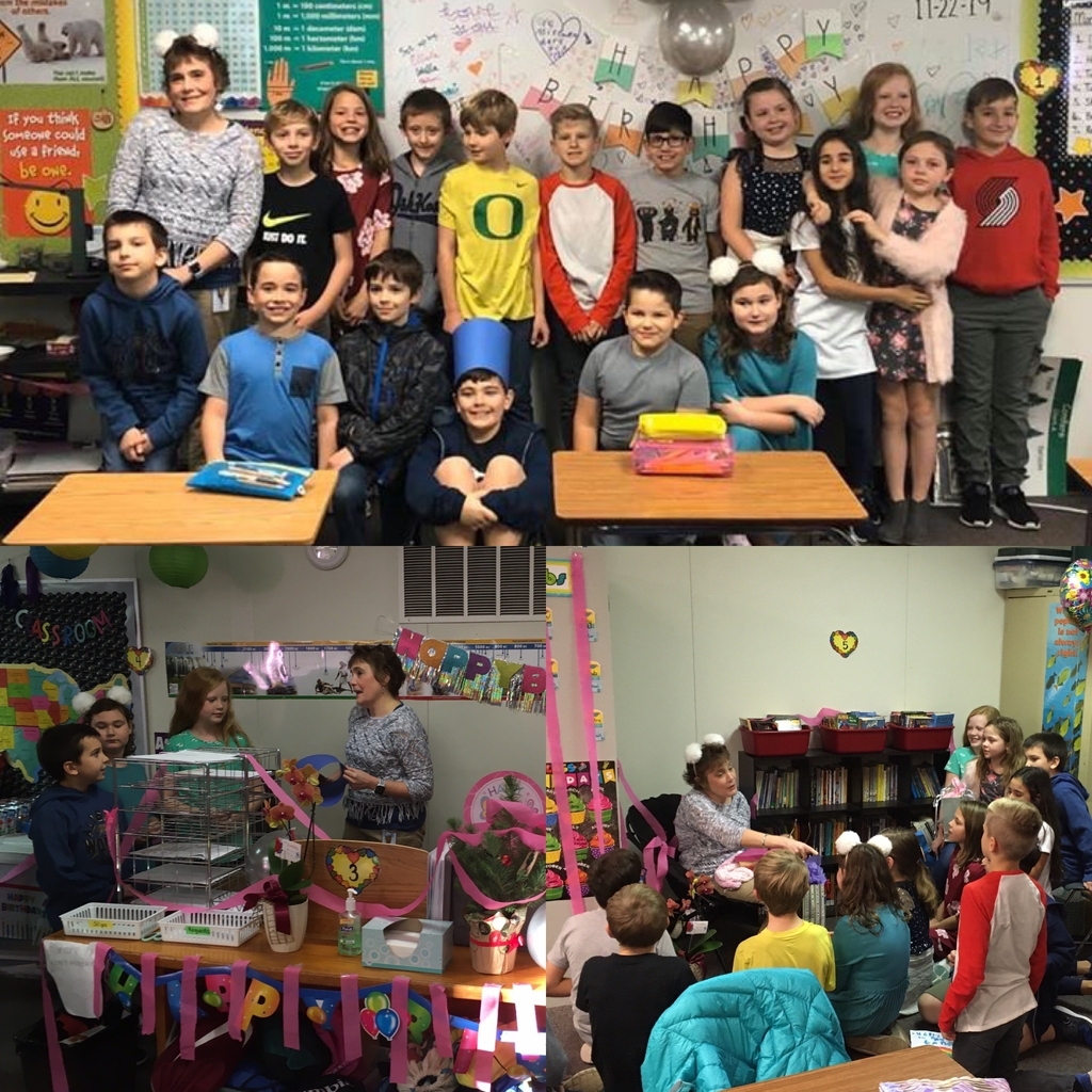 Mrs. Gandara's surprise birthday!